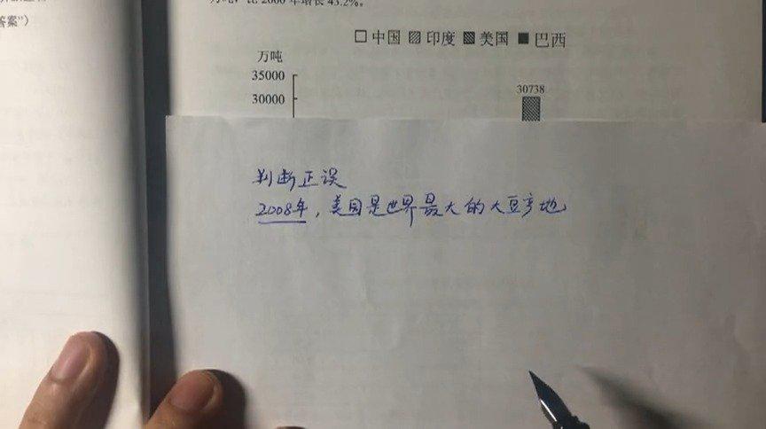 资料分析高频易错题049 2008年世界稻谷总产量68501.3万吨
