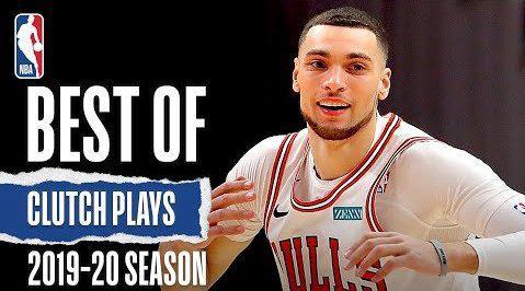 官网出品的本赛季最强关键球合集,各种大心脏,这也是我们热爱篮球的