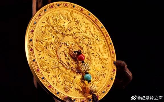 琳朝珠宝 牡丹重纹镜