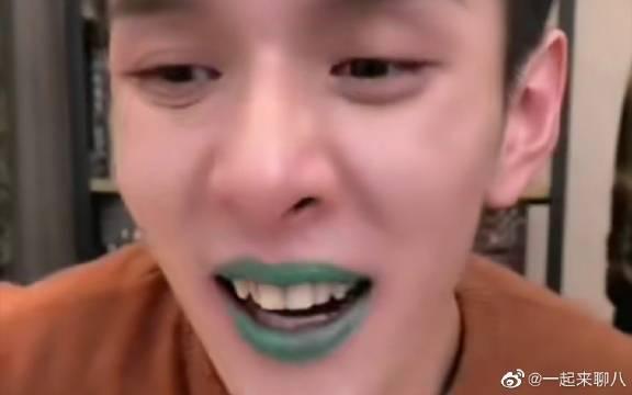 李佳琦丝芙兰唇釉试色,感觉在绿色之后其他颜色都入不了我的眼了