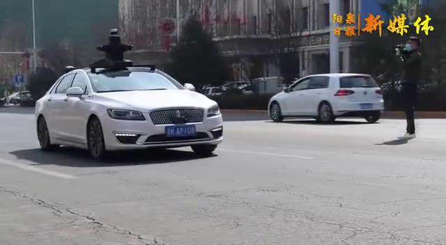 """百度自动驾驶测试车辆阳泉""""上路""""!"""