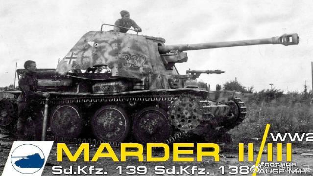 黄鼠狼Ⅱ驱逐战车,黄鼠狼(貂鼠)II(Marder