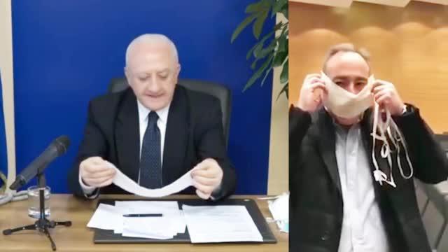 视频-意大利各大区主席吐槽民防部口罩:像给兔子用的 哪敢给医护人员?