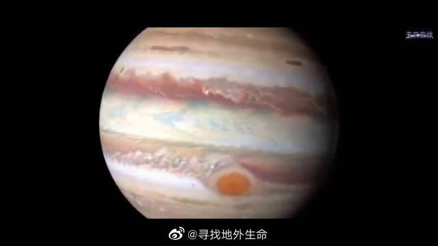 NASA出品的大片,带你近距离的接触太阳系最大的行星