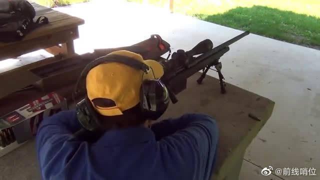 狙击步枪安装消音器效果对比测试,不戴耳麦就是最好的证明!