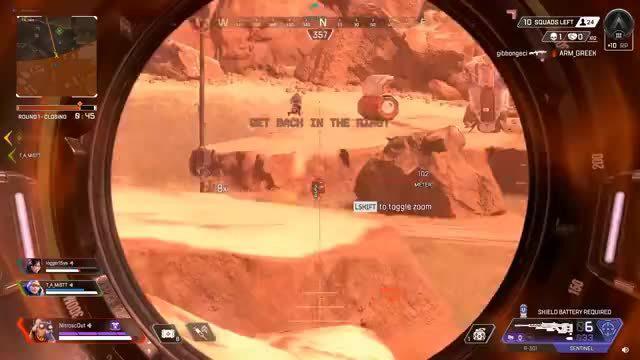 利用弹射器完成空中击杀