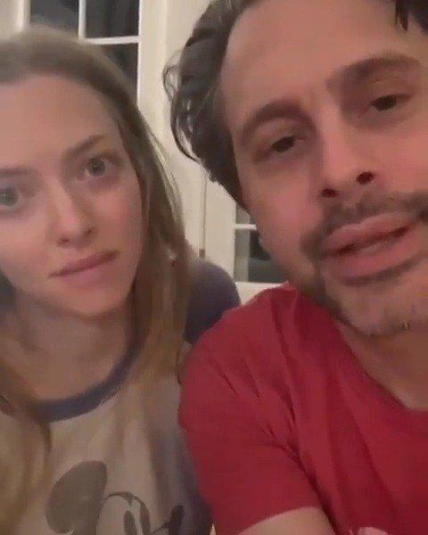 阿曼达塞弗莱德和老公Thomas
