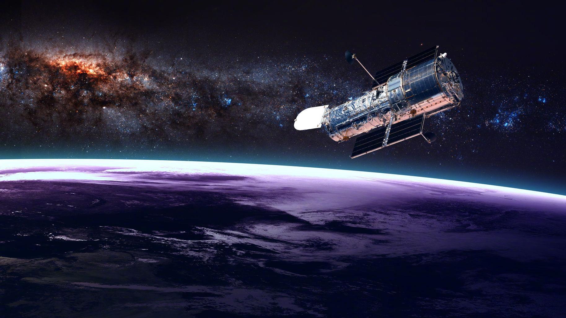 这两天估计大家都看到了的样子,其实这是NASA为了纪念哈勃太空望远镜