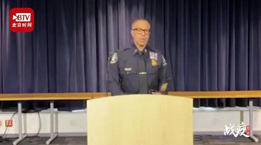 美国底特律五分之一警察遭隔离 警察学院正加快课程进度以提供警力