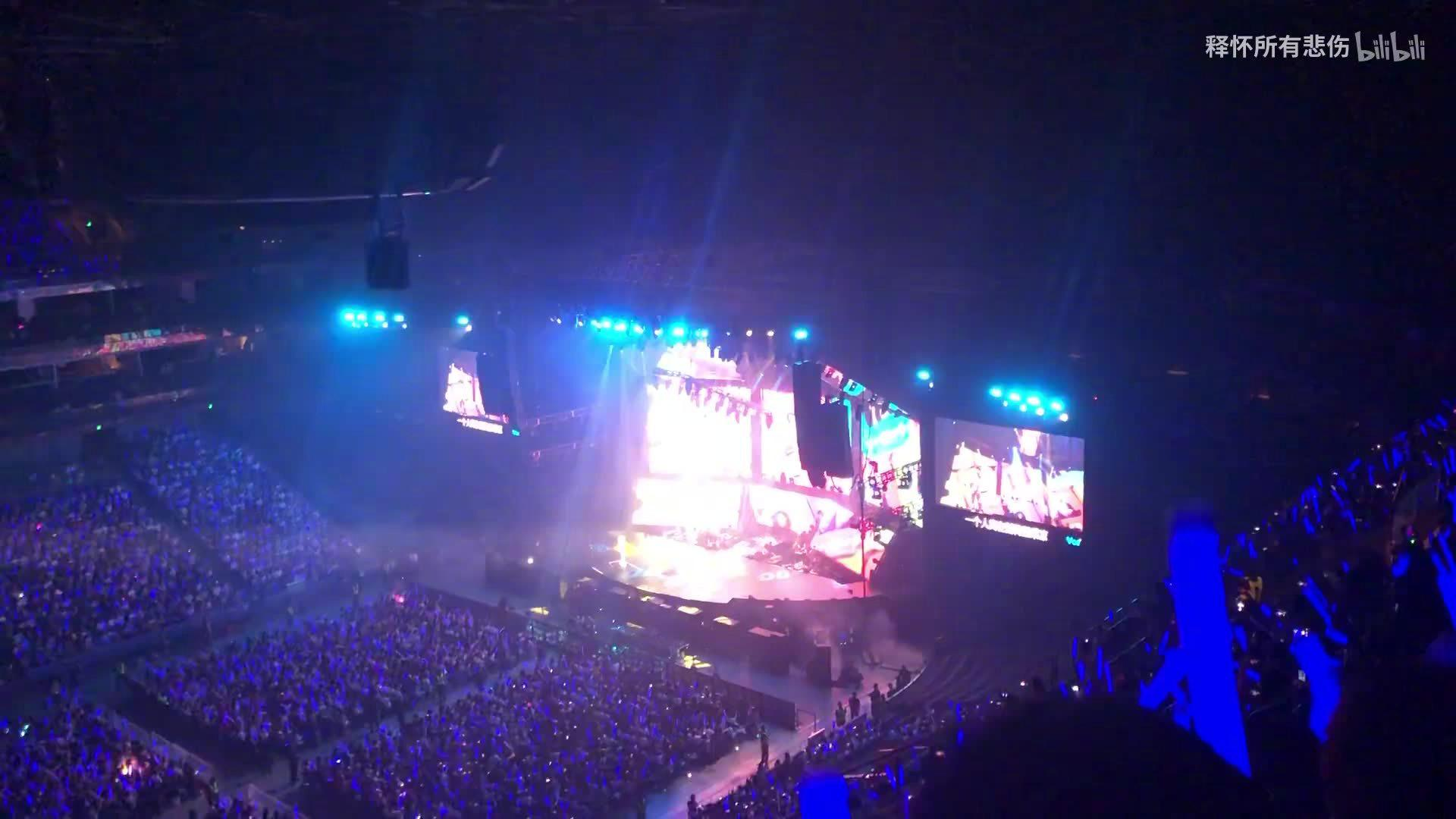 许嵩2019演唱会上海站《素颜》完整版