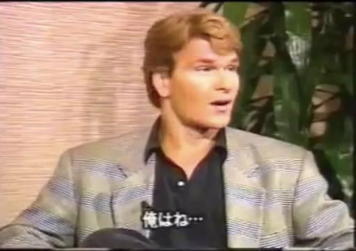 《惊爆点》Point Break 1991 基努和帕特里克去日本宣传的时候