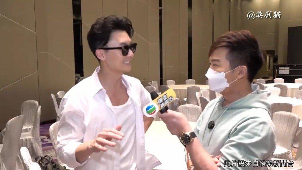 《踩过界2》@王浩信 新剧又除衫 赵硕之面前为乜骚背肌?  娱乐新闻