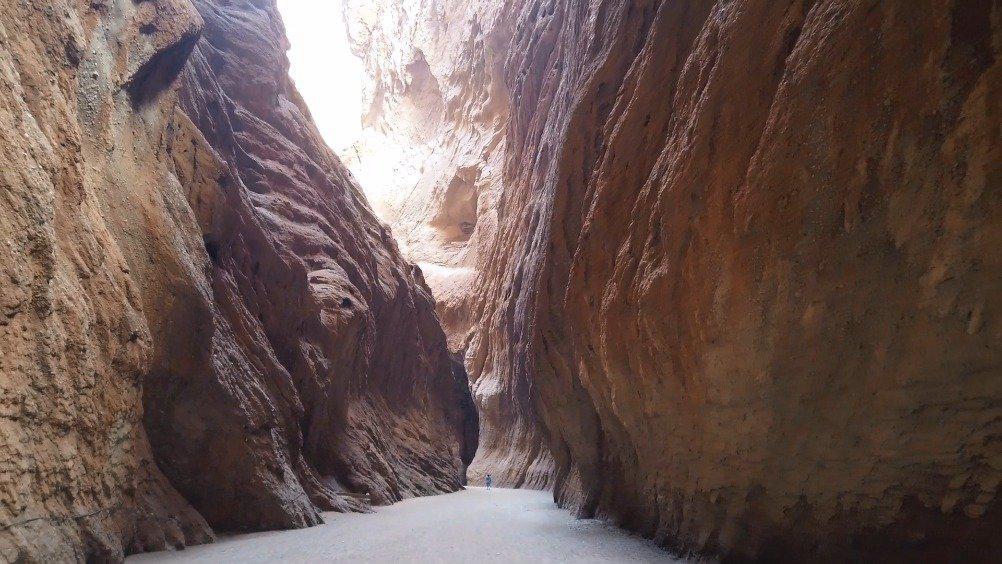 据说天山神秘大峡谷是南疆自驾游必去的景点