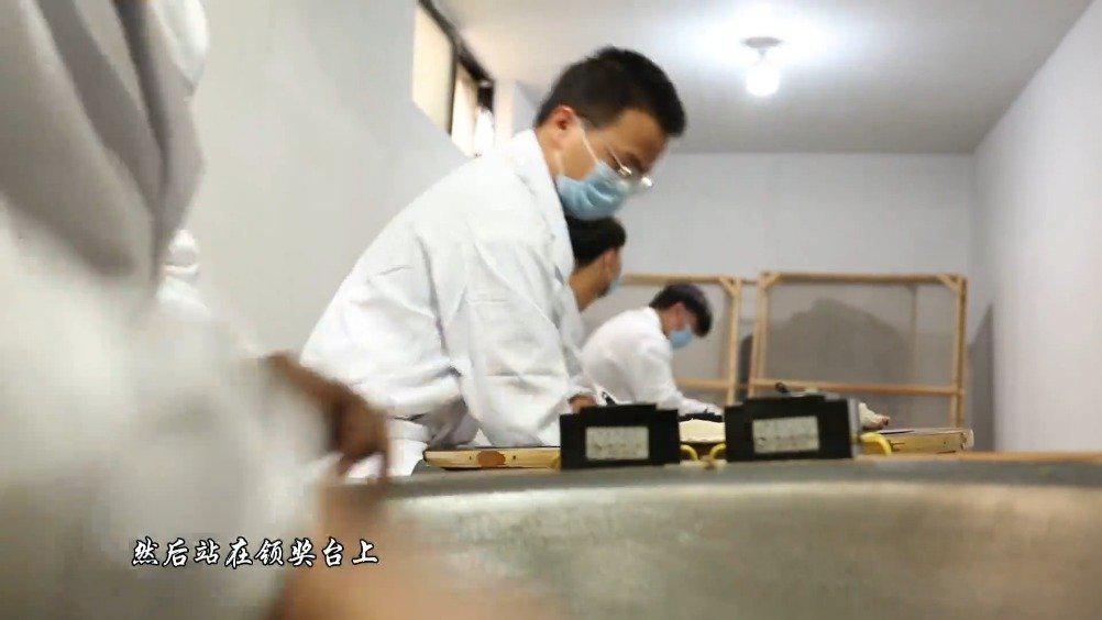 随着松阳茶产业的发展,一批批00后茶师傅也在茁壮成长