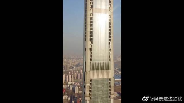 孤独一柱,天津最高地标大楼,你绝对没见过!