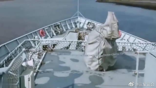 帅气十足的一款水面舰艇,猜出是什么了吗?