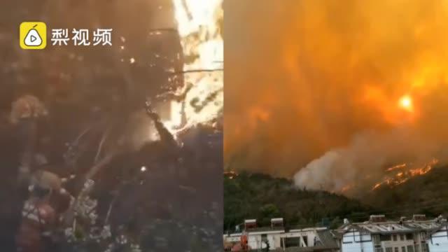 留学生隔离完又遇西昌森林火灾:3个月经历疫情地震和火灾