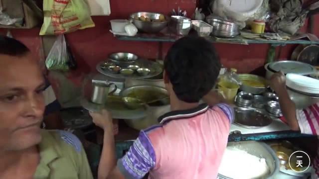 印度人怎么吃饭?中国小伙来到印度加尔各答,全程实拍