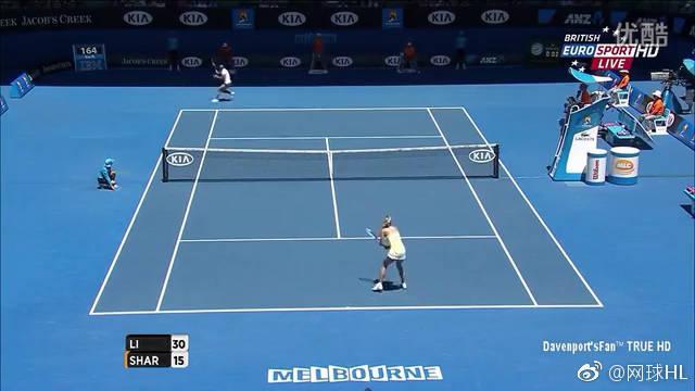 经典回顾:李娜横扫莎娃2013澳网半决赛
