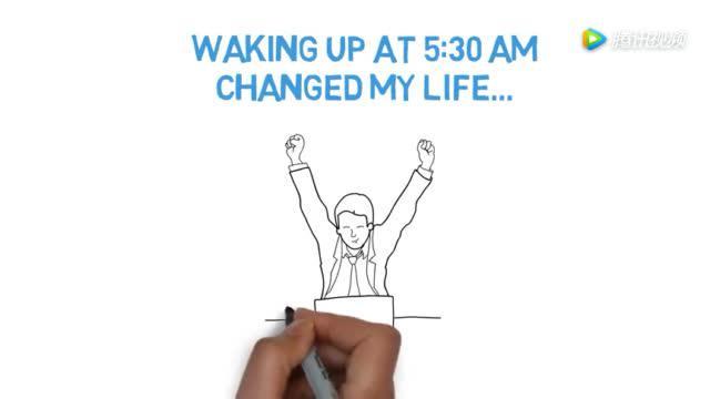 英文科普短片:早上5:30起床的6个令人震惊的好处!