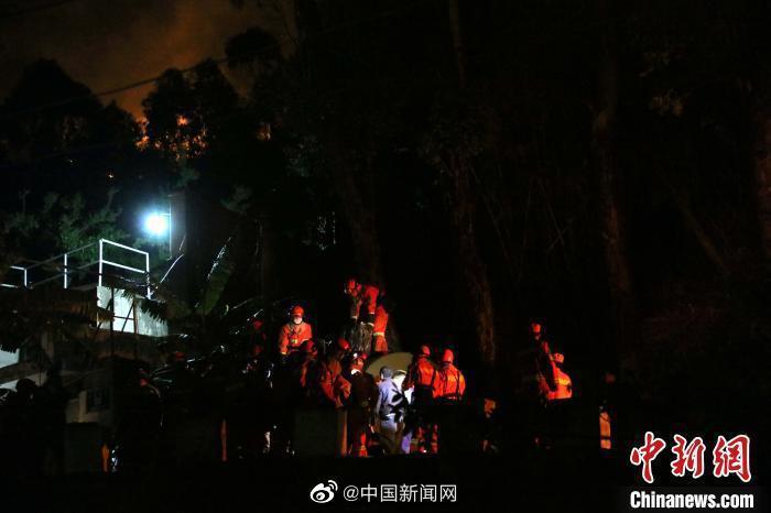 西昌森林火灾西线林火被扑灭马道场口液化气站暂解险情
