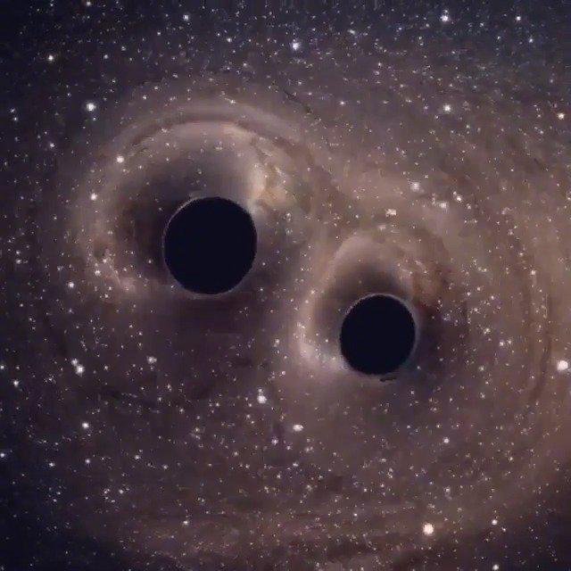 黑洞合并的声音,听起来是什么感觉?