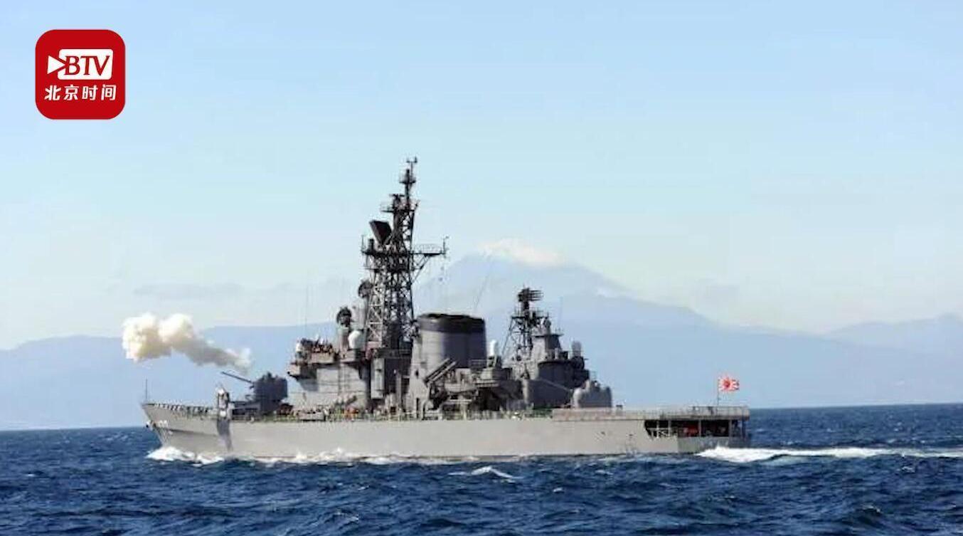 中国渔船与日本舰艇相撞一渔民受伤