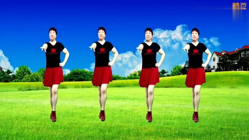 广场舞《心上的罗加》动感水兵舞,风格独特新颖