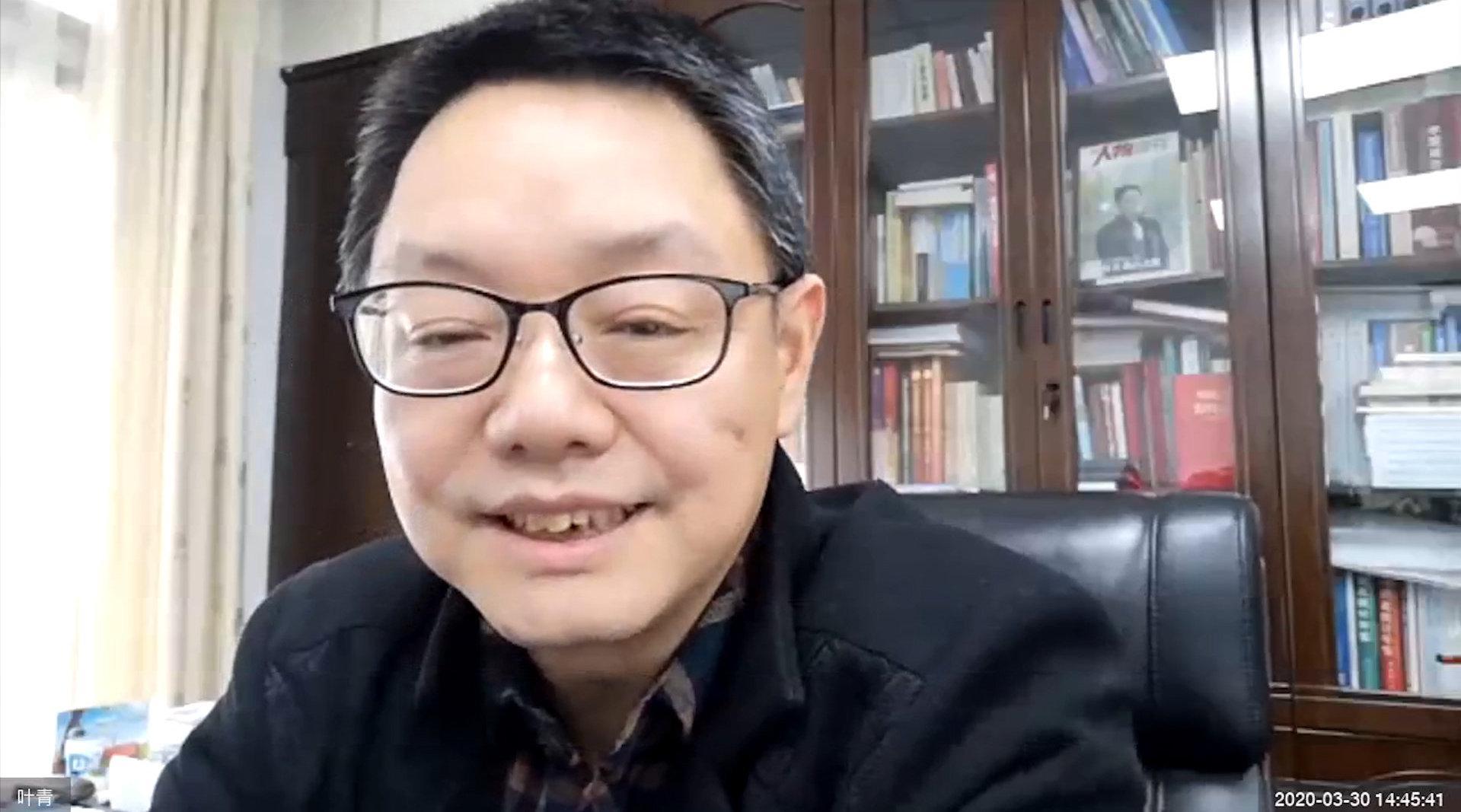 湖北省统计局副局长叶青:对经济预测不要太悲观