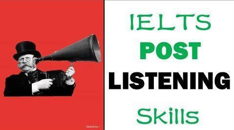 雅思听力:听录音后提分技巧和策略(英文字幕)