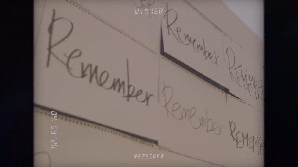 31日YG娱乐公开了新专辑《Remember》的概念视频