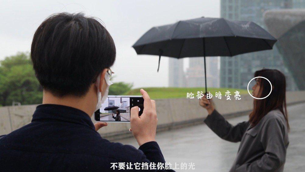 阴雨天拍人像的几个小技巧,vivoS6首发拍摄体验