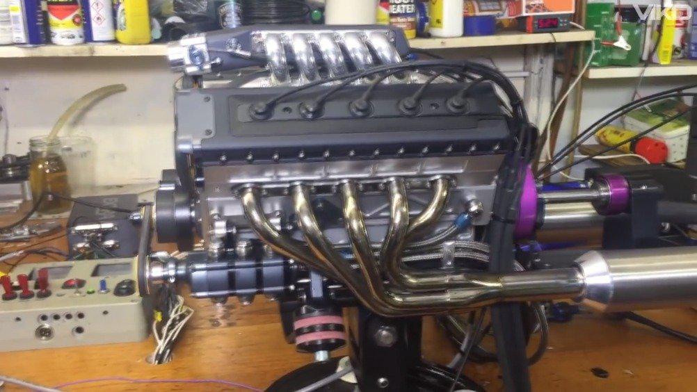 麻雀虽小,来看看13个手工制作的微型引擎!