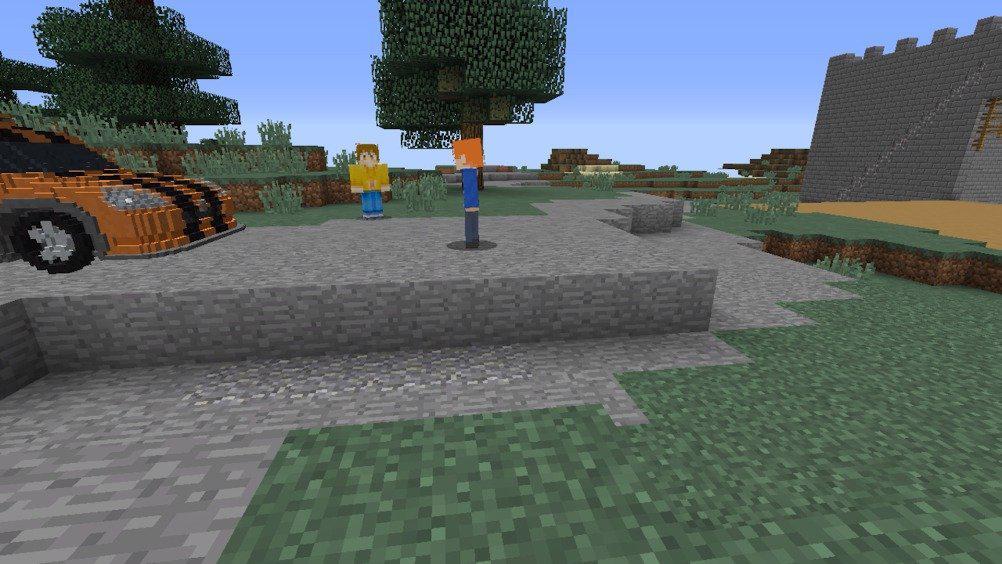 Minecraft短视频故事接龙《铃铛传2》出演人员主角