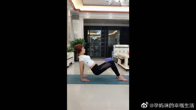 产后康复瘦身瑜伽教程,简单有效,妈妈们做起来!