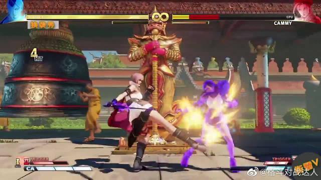街霸V最美换装秀:《最终幻想》的蒂法女神参战