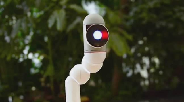 有点意思:儿童教育机器人ClicBot,模块化的,能爬墙,能蛇行
