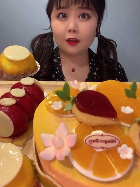 脏脏包爱吃:哈根达斯冰淇淋蛋糕