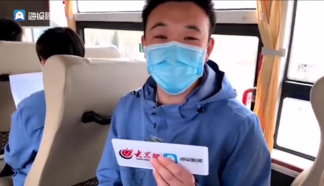 东营医疗队小伙陈霖:回家以后最想吃妈妈做的饺子!