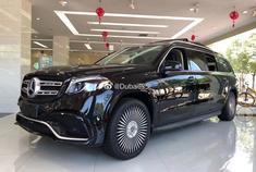 汽车美图大赏:奔驰GLS450 加长版5.98米