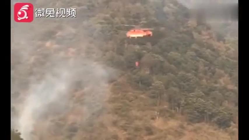 一共2180人分成四路!西昌消防今日发起总攻,一定要平安归来!