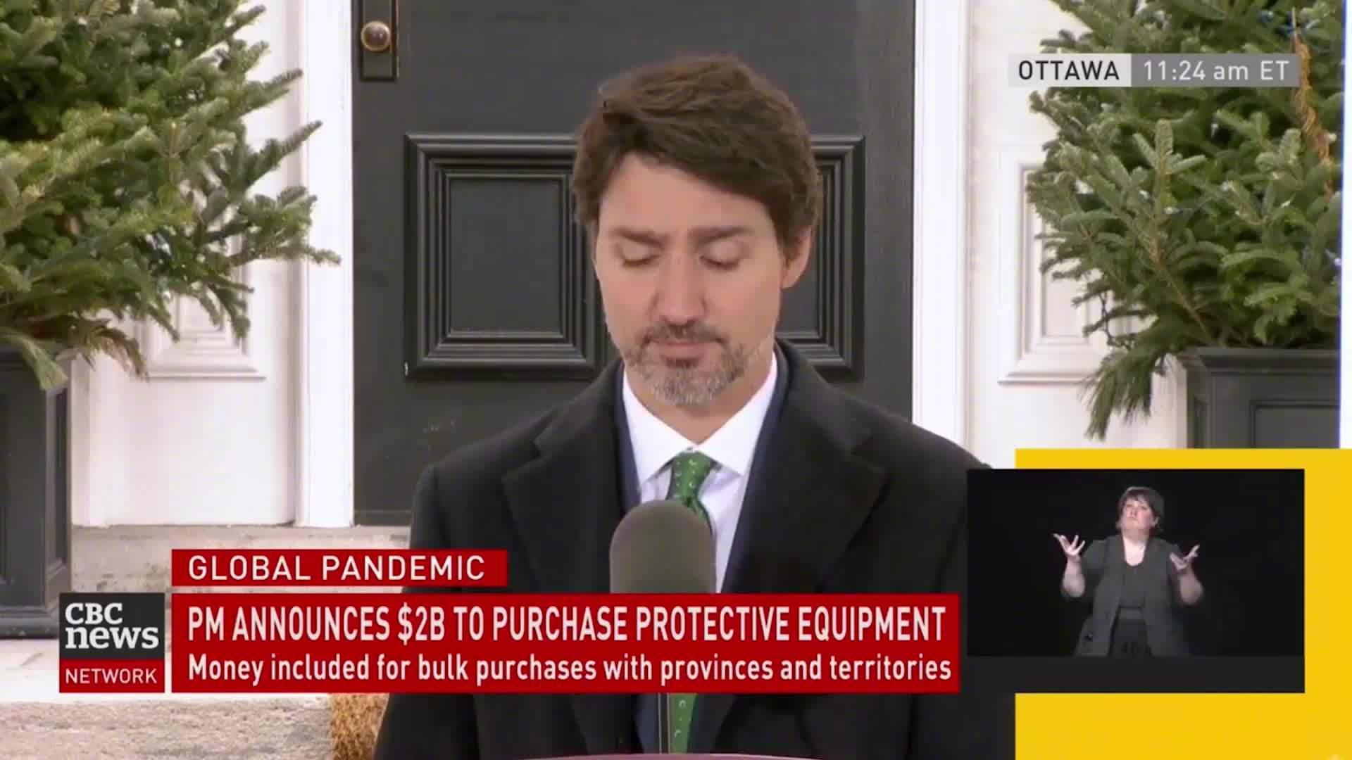曾给中国送来16吨物资,如今收到帮助,加拿大总理致谢中国企业
