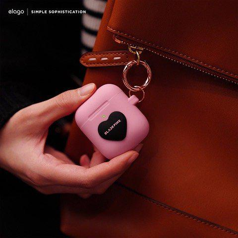 韩国手机配件品牌Elago推出了主题的手机壳以及AirPods保护套