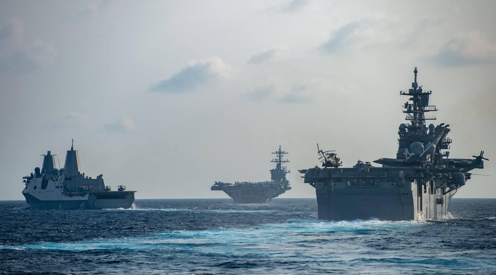陈冰:美国航母向政府公开求援意味着什么?