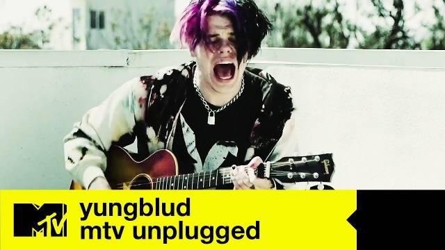 英国大热朋克歌手YUNGBLUD最新居家演唱会
