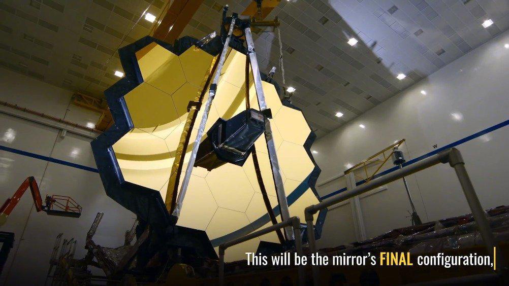 已经在地面上赖了很久的下一代空间望远镜