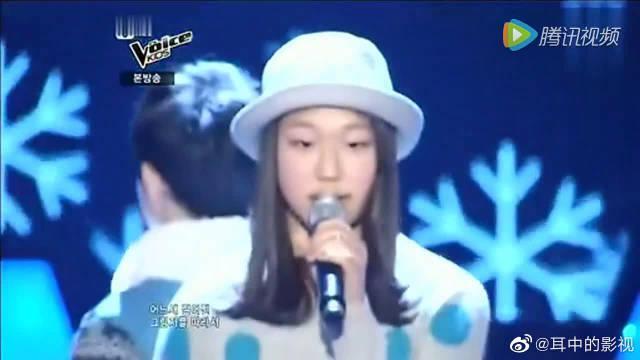 小女孩惊艳唱韩剧《对不起我爱你》主题曲
