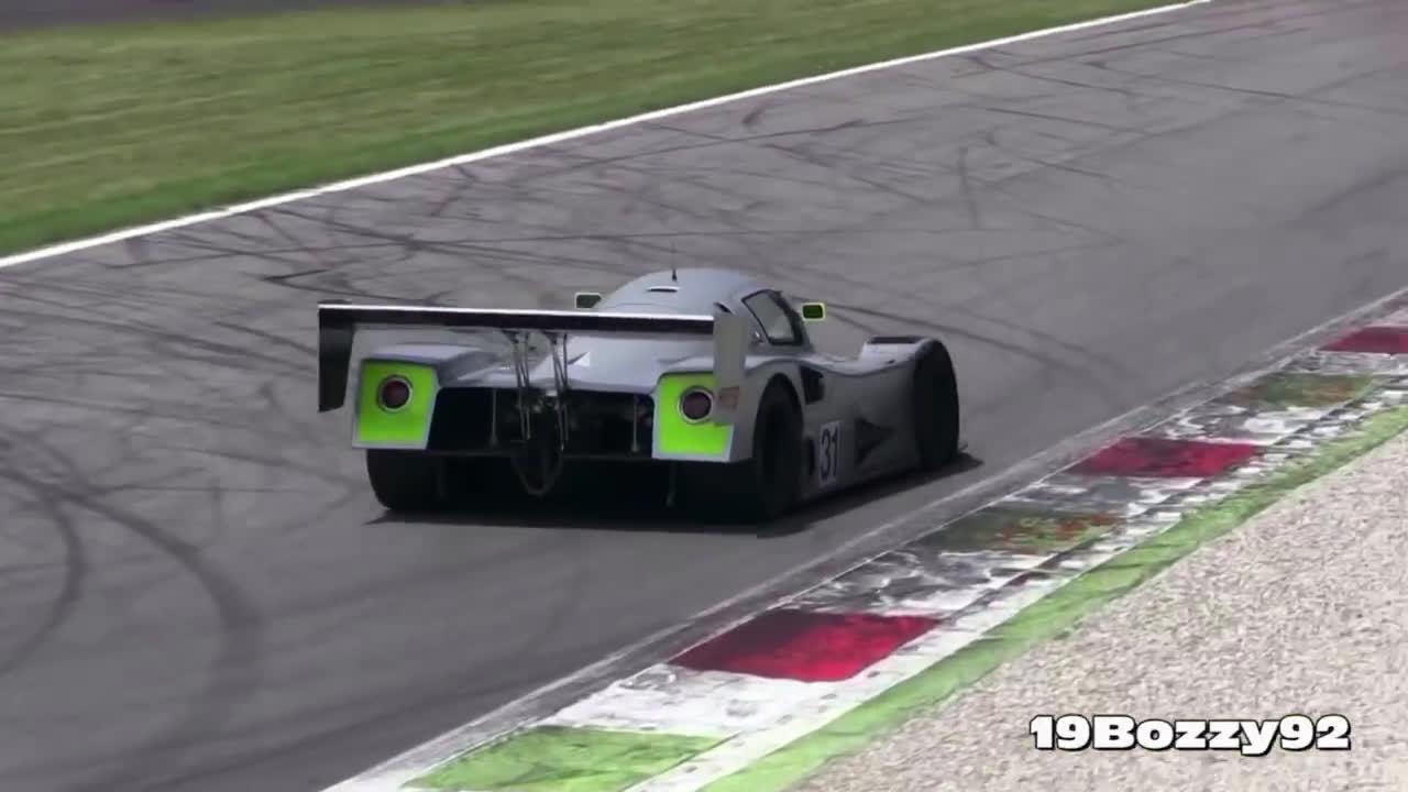 感受一下纯粹声浪——蒙扎赛道的索伯-梅赛德斯C11赛车