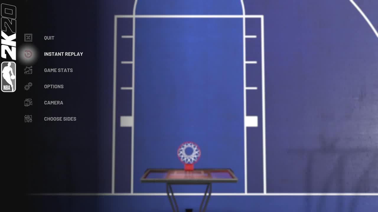 英格拉姆VS裤子马NBA2K20单挑