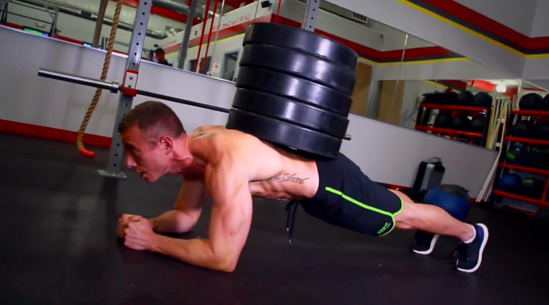 M&S:10大最具挑战性核心区(腹部)训练动作